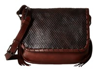 Frye Layla Concho Crossbody Redwood Smooth Vintage Leather Cut Leather Cross Body Handbags Brown