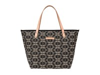 Petunia Pickle Bottom Woven Linen Cotton Downtown Tote Constellation Tote Handbags Navy