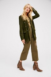 Free People Womens Long And Slim Blazer