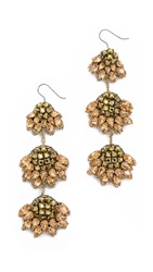 Vera Wang Jeweled Earrings