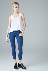 Forever 21 Low Rise Skinny Ankle Jeans Denim