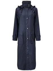 Four Seasons Waterproof Wax Coat Blueberry