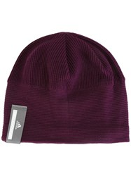Adidas By Stella Mccartney 'Run' Beanie Pink Purple