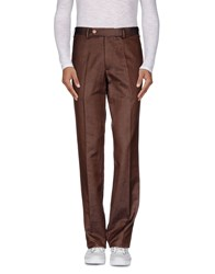 Marco Pescarolo Trousers Casual Trousers Men Cocoa