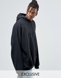 Reclaimed Vintage Super Oversized Hoodie Black