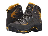 Asolo Tps Equalon Gv Evo Graphite Mineral Yellow Men's Boots Black