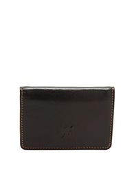 Tusk Leather Business Card Case Black
