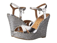 G By Guess Debbra 2 Silver Women's Wedge Shoes