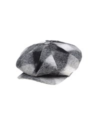 Pierre Balmain Accessories Hats Men Grey