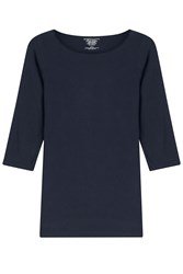 Majestic Jersey Top With Cropped Sleeves Gr. 2