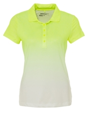 Nike Golf Fade Polo Shirt Volt White Neon Yellow