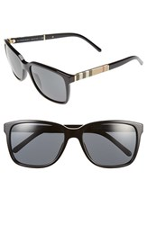Burberry Women's 58Mm Sunglasses Black