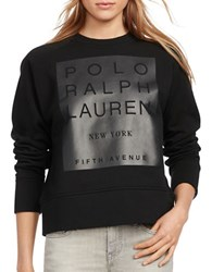 Polo Ralph Lauren Fleece Graphic Sweatshirt Black