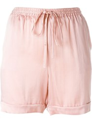 P.A.R.O.S.H. 'Safira' Shorts Pink And Purple