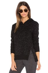 Solow Lounge Hooded Pullover Black