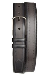Men's Mezlan 'Diver' Two Tone Leather Belt