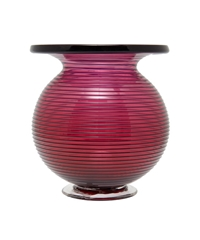 Small Pink Spiral Glass Vase Home Liberty.Co.Uk