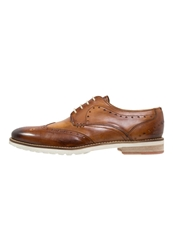 Melvin And Hamilton Scott Laceups Washed Tan Brown