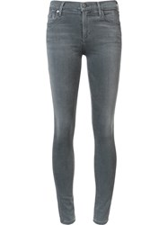 Citizens Of Humanity High Waisted Super Skinny Jeans Grey