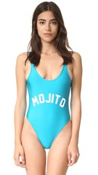 Private Party Mojito Swimsuit Blue