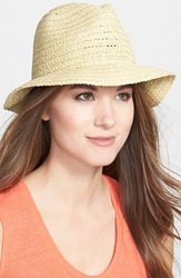 Nordstrom Summer Straw Bucket Hat Natural