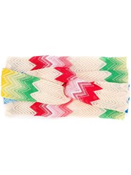 Missoni Zig Zag Knit Headband