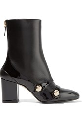 N 21 No. Studded Leather Boots Black