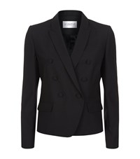 Claudie Pierlot Variety Double Breasted Blazer Female Black