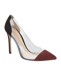 Gianvito Rossi Calabria Suede Court Female Wine