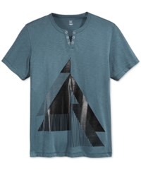 Inc International Concepts Men's Graphic Print T Shirt Only At Macy's Dark Slate