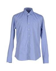 Tiffany Saidnia Tt Shirts Shirts Men Blue