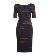 Escada Dalma Dress Female Dark Blue