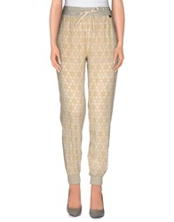 Tirdy Trousers Casual Trousers Women Beige