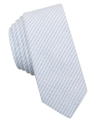 Original Penguin Trevini Striped Tie Blue