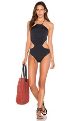 Clube Bossa Trefusis Halter One Piece Black