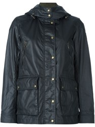 Belstaff Zipped Hooded Jacket Black