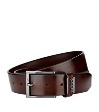 Boss Degrade Effect Belt Unisex Brown