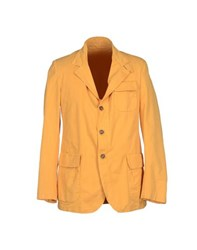 Betwoin Suits And Jackets Blazers Men Ochre