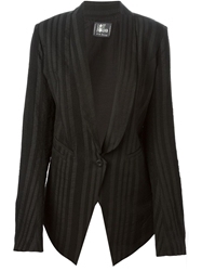 Lost And Found Crossed Back Smoking Blazer
