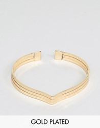 Ny Lon Nylon Gold Plated Cuff Bracelet Gold Plated