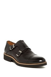 Gordon Rush Hamel Double Monk Loafer Black