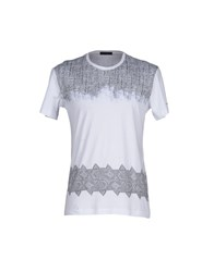 Alessandro Dell'acqua Topwear T Shirts Men White