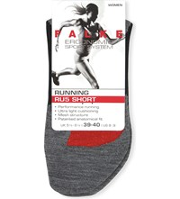 Falke Ergonomic Sport System Ru5 Mesh Cushioned Short Socks 3010 Black Mix