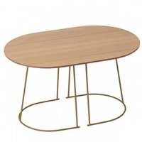 Muuto Airy Coffee Table Small Oregon Pine Muuto Airy Tables Furniture Finnish Design Shop