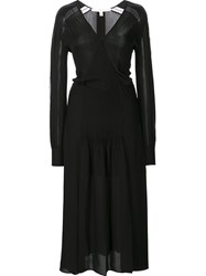 Veronica Beard Lace Overlay Dress Black
