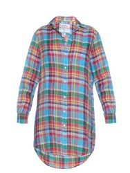 Frank And Eileen Mary Plaid Shirtdress Multi