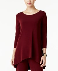 Alfani Petite High Low Jersey Tunic Top Only At Macy's Marooned