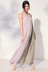 Out From Under High Neck Maxi Cover Up Lavender