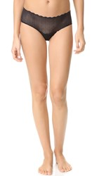Cosabella Sweet Treats Geo Hot Pants Black