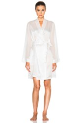 La Perla Jazz Time Robe In White